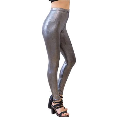 Leggings For Girls Shiny Faux Leather Pants