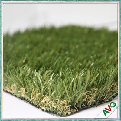 Outside Natural Looking Synthetic Dog Grass Ornamental Turf PE Material