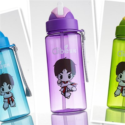 550ML Tritan Coating Kids Water Bottle