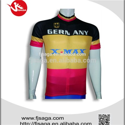 Mens Cycling Jersey Half Sleeve Sublimation Racing Biking Outdoor Sportswear
