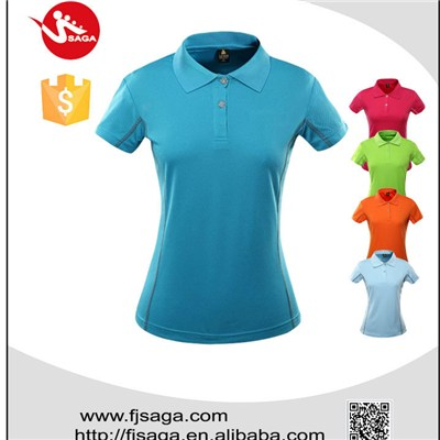 short sleeve polo shirt design for women