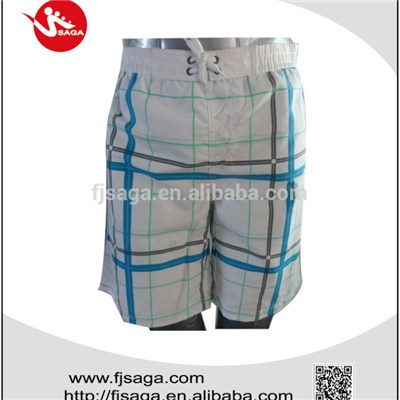 cheap printing beach shorts for mens manufacturing