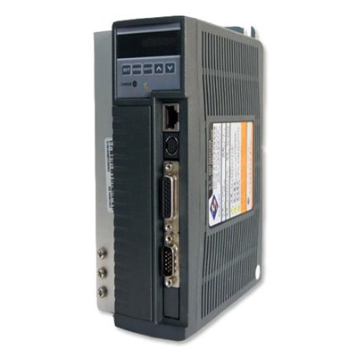 General AC Servo drive can be used with AC servo motor range from 100W~3.8KW
