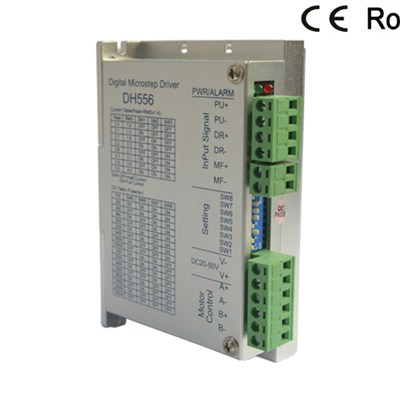 2 phase digital microstep Stepper Drive with current under 5.6A
