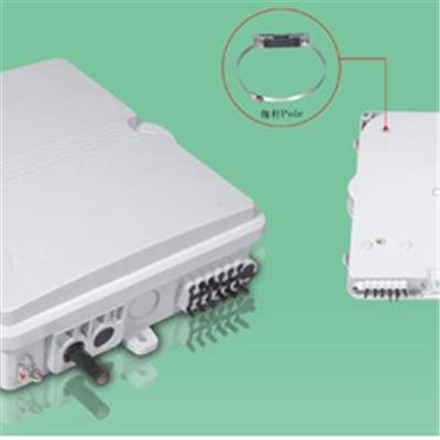 Low Price 8 Fiber Plastic Optic Distribution Enclosure