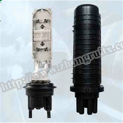 3in 3out Max 96 Cores Fiber Optical Splice Closure