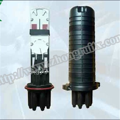 3in 3out Max Capacity 60cores Fiber Optic Splice Closure