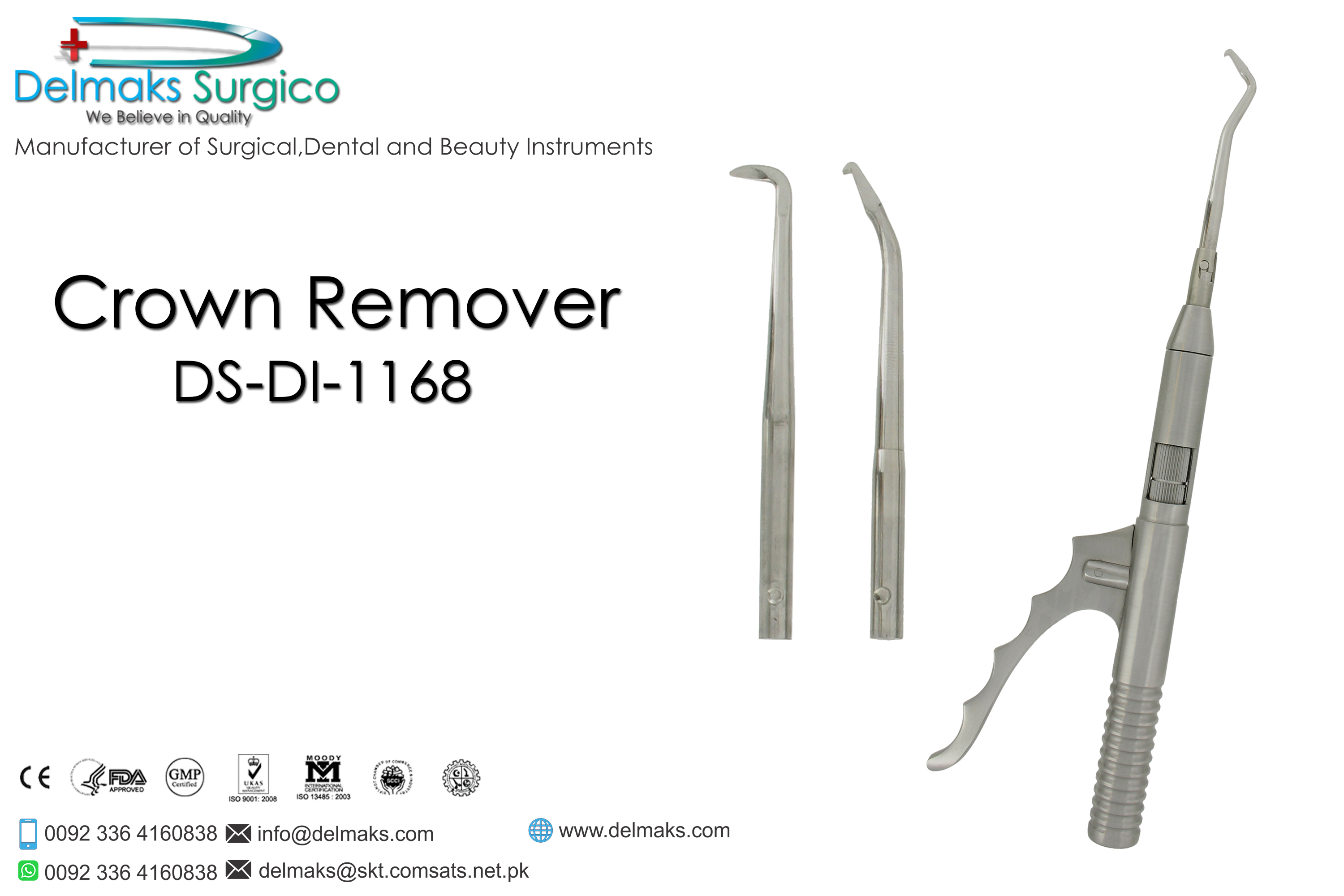 Crown Remover-Dental Instruments-Delmaks Surgico