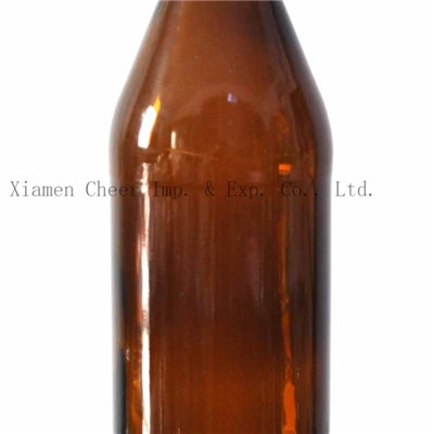 500ml Amber Color Glass Beer Bottle(PJ500-7)