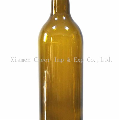 750ml Bordeaux Bottle Screw Finish Wine Bottle(PT750-1310 AG)