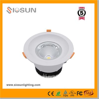 80W 10 Inch Recessed COB LED Downlight Lighting