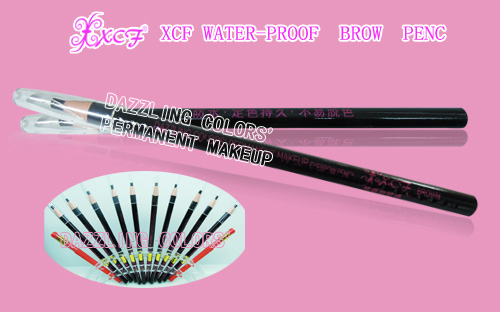 DAZZLING COLORS'PERMANENT MAKEUP XCF WATER-PROOF BROW PENCIL