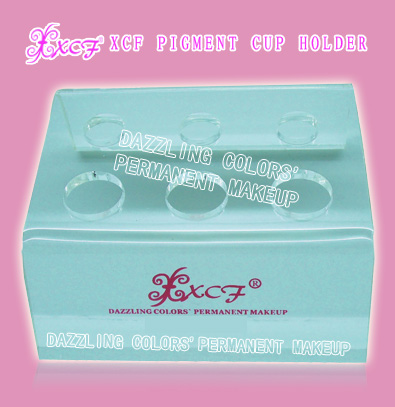 DAZZLING COLORS'PERMANENT MAKEUP XCF PIGMENT CUP HOLDER