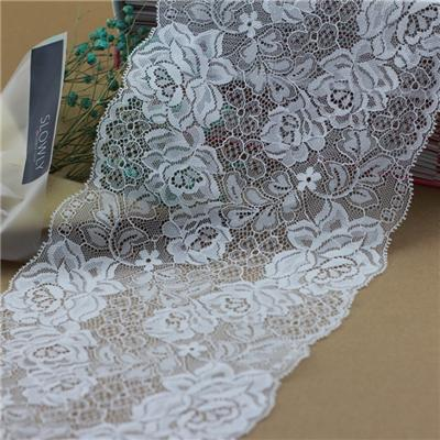 Non-stretch Lace Trim for Lingerie and Underwear (J1020)