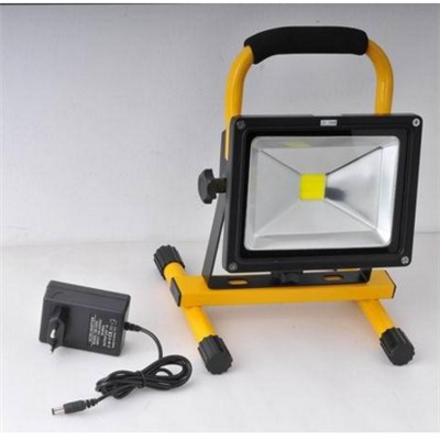 Outdoor 20w Rechargeable Flood Lamps Light