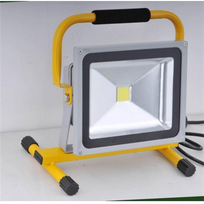 Outdoor 30w Rechargeable Flood Lamps Light