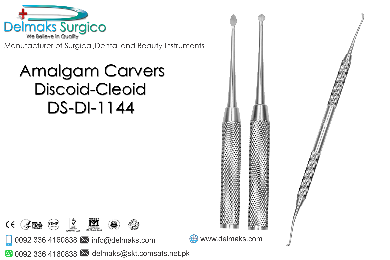 Amalgam Carvers (Discoid-Cleoid)-Restorative Instruments ...
