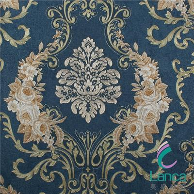 Interior Pvc Embossed 3d Wallpaper For Living Room LCPE1188017