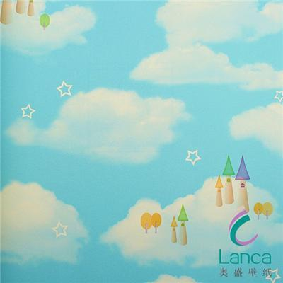 Beautiful Blue Sky Wallpaper Design For Decoration LCPE1321102