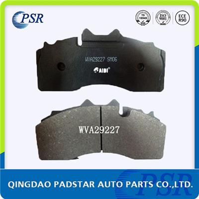 Casting Back Plate Brake Pad For Bpw Wva29227