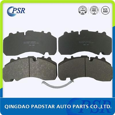 Truck Parts Brake Pad Wva29167 Bpw Daf Mercedes Benz Renault