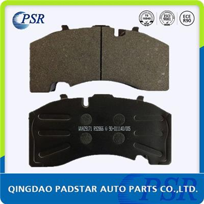 Stamp Hole Back Plate Brake Pad Wva29171 For Seria