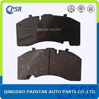 Welded Mesh Back Plate Brake Pad Wva29171