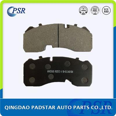 Auto Parts Brake Pad Wva29165 Dpw6000 Benz