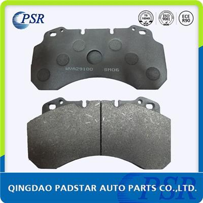 Stamp Hole Back Plate Brake Pad Wva29100 For Renault Nissan
