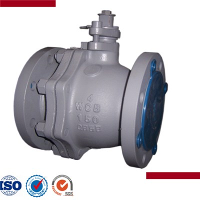 Cast Steel Flanged End Floating Ball Valve