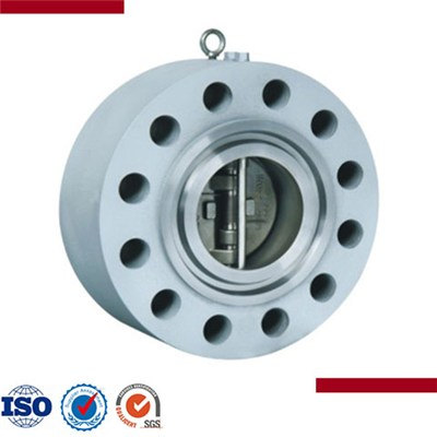 Forged Steel Lug Type Dual Plate Swing Check Valve