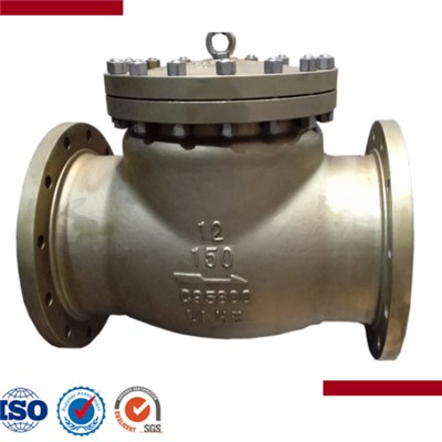 Carbon Steel Flanged End Swing Check Valve