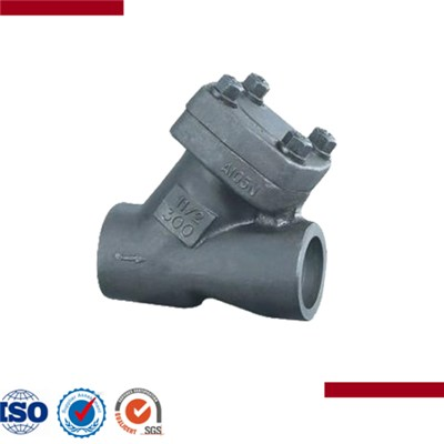 Forged Steel Y Type Check Valve