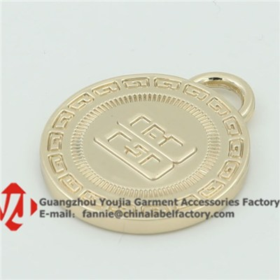 Heavy Weight Hanging Metal Tag Charm