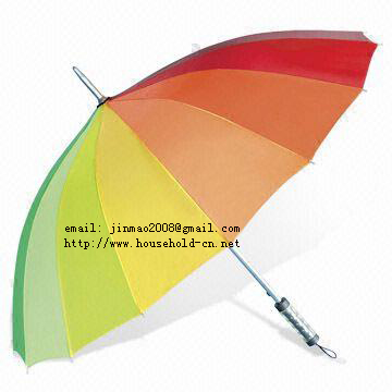 sell folding  umbrella, children umbrella, golf  umbrella, gift umbrellas. Rainbow Umbrella