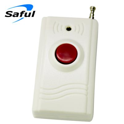 TS-5507 High quality & good price 315Mhz/433Mhz Wireless Emergency button/remote Panic SOS button for Security alarm system