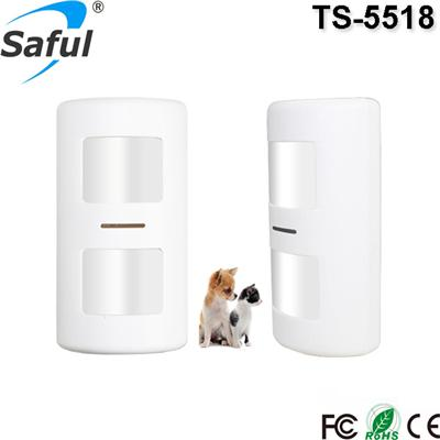 Pet Immunity PIR Motion Sensor TS-5518 Saful