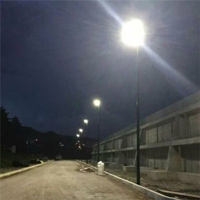 5years WarrantyOutdoor Road Lamp Integrated 60W Solar Street LED Light new project in Mexico