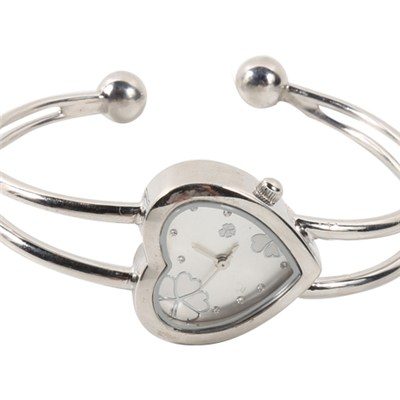 Designer Silver Bracelet Dress Watches For Ladies