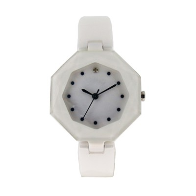 Custom Ceramic Female White Dress Watches