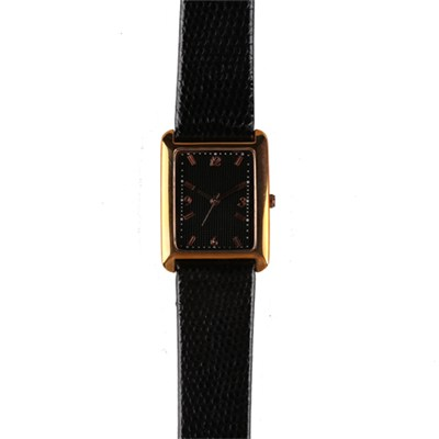 Customized Ladies Rectangle Dress Watch