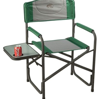 Favoroutdoor Steel Folding Director Chair With Side Table