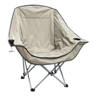 Favoroutdoor Moon Chair Single With Arms W/wine Glass Holder