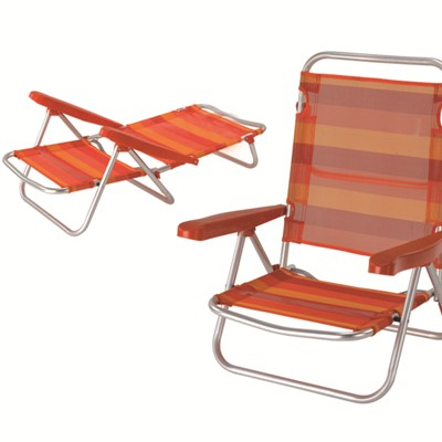 Favor Outdoor Beach Folding Chair With Adjustable Backrest