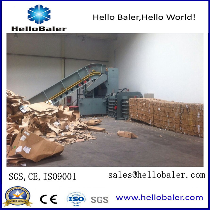 Horizontal  Waste Ppaer Baling Machine