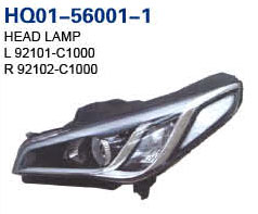 Sonata 2014 Auto Lamp, Headlight, Headlight LED, Tail Lamp, Back Lamp, Rear Lamp, Fog Lamp, Fog Lamp Cover, Side Lamp (92102-C1000, 92101-C1000, 92102-C1050, 92101-C1050, 92402-C1000, 92401-C1000, 924