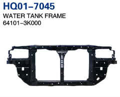 Sonata 2004 Radiator Support, Water Tank Frame, Panel (64101-3K000)