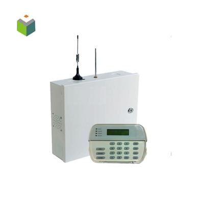 LCD Dispaly PSTN + TCP/IP Home alarm panel system AJ-201