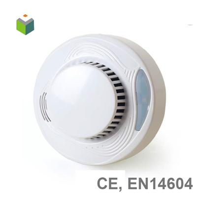 EN14604 10 Year Li Battery Independent Smoke Detector AJ-708