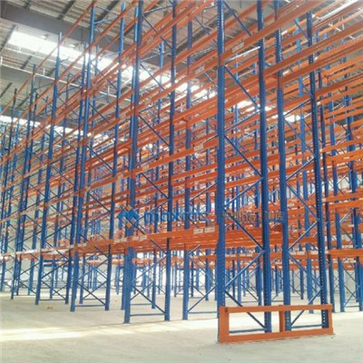 Teardrop Pushback Pallet Racking